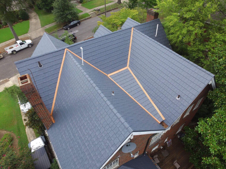 Slate Roof Installation : Roof installation our quality roofing process