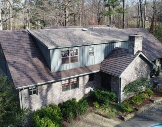 syntheitc cedar shake roof