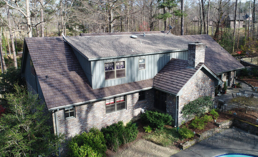 Syntheitc Cedar Shake Roof · Brava Shake Birmingham Alabama