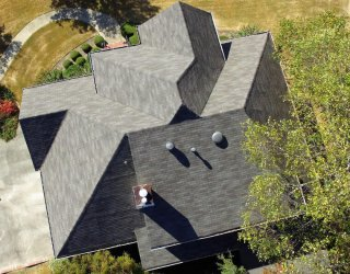 Completed ReRoof Drone Shot