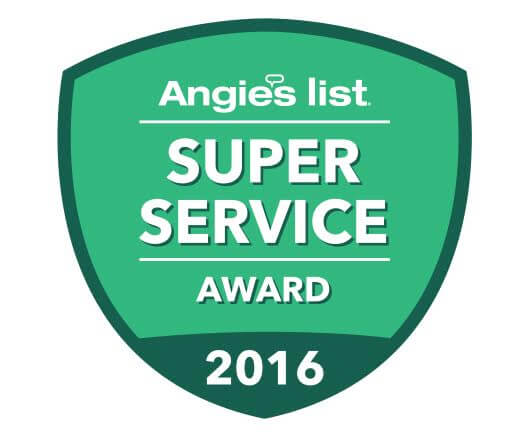 Angie's List Preferred Roofing Contractor