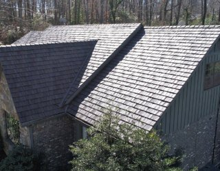 new composite shake roof