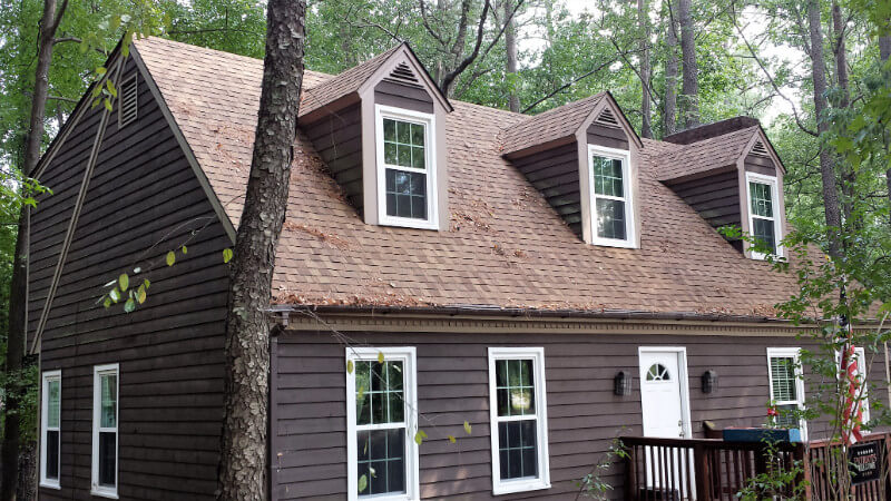 roofing services offered by authentic restoration of cary, nc