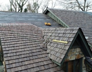synthetic shake roof
