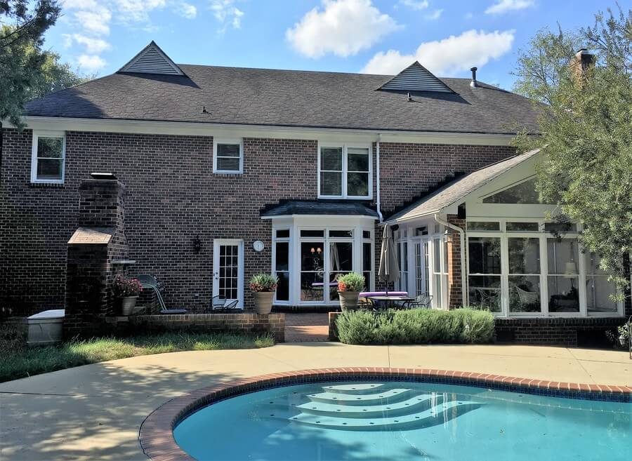 Before Quality Roofing Repair Charlotte NC