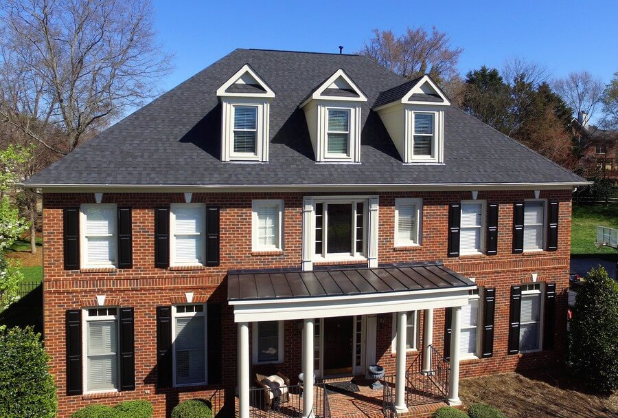 Two Beautiful Roof Replacements In Charlotte Nc