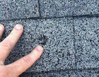 Hail Damage Roof Repair Carmel Indiana