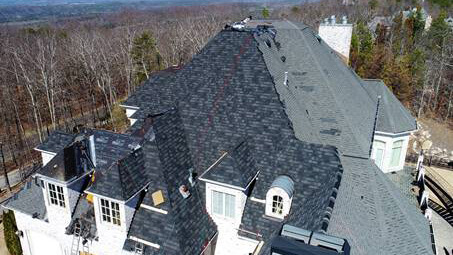 Hail Amp Wind Damaged Roof Replacement Birmingham Al