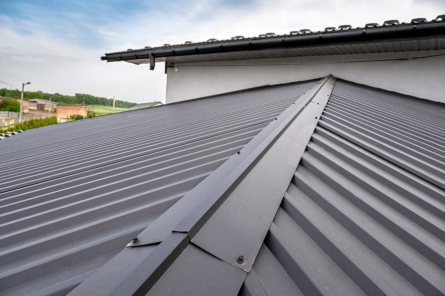 types of metal roofs for homes and businesses