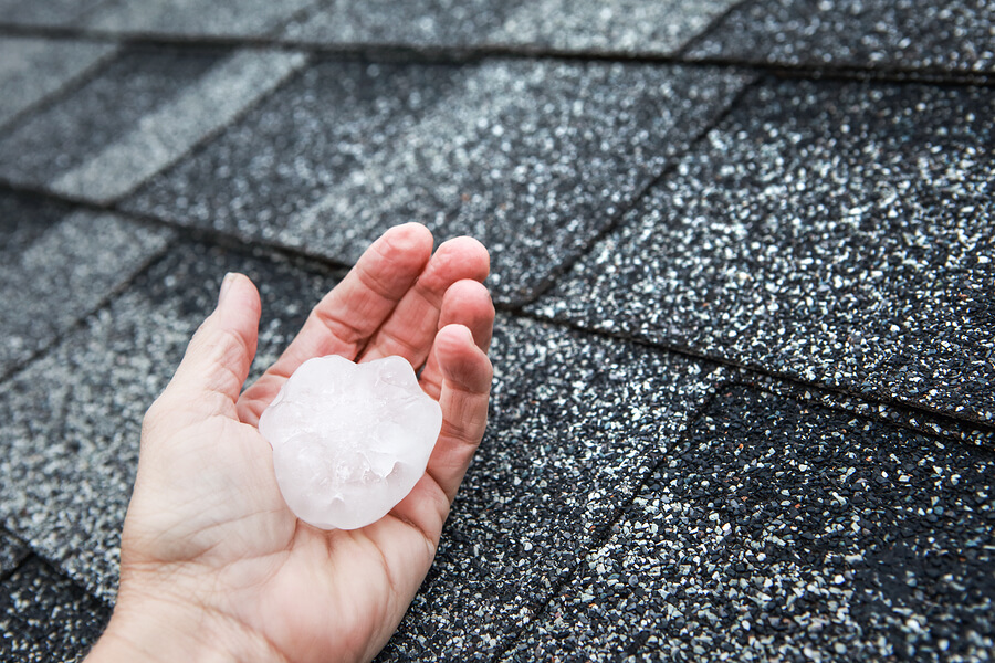 hail damage roof indianapolis