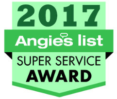 Angie's List Super Service Award Authenitc Restoration Roofing Contractor