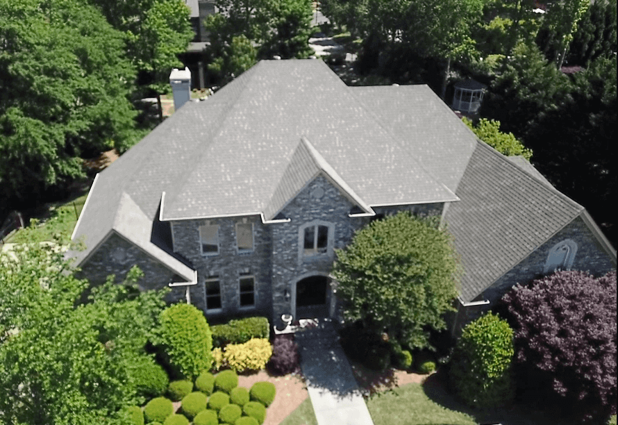 re-roof by authentic restoration