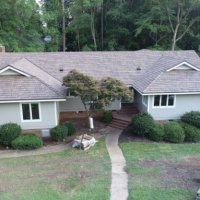 new roof synthetic cedar shake