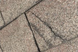 broken shingles
