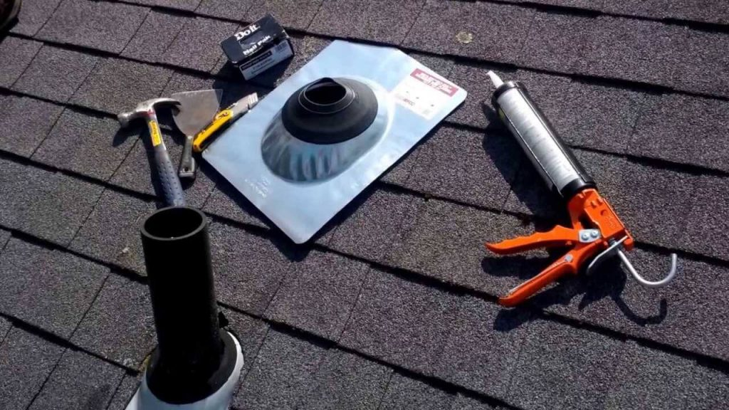 Repairing A Leaky Roof Pipe Vent Roof Boot Replacement