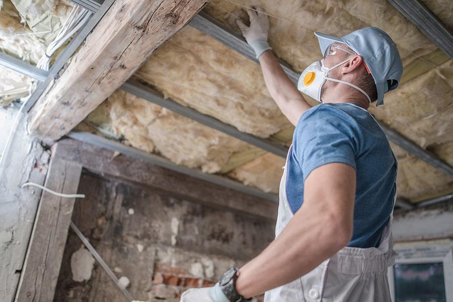 replacing attic insulation