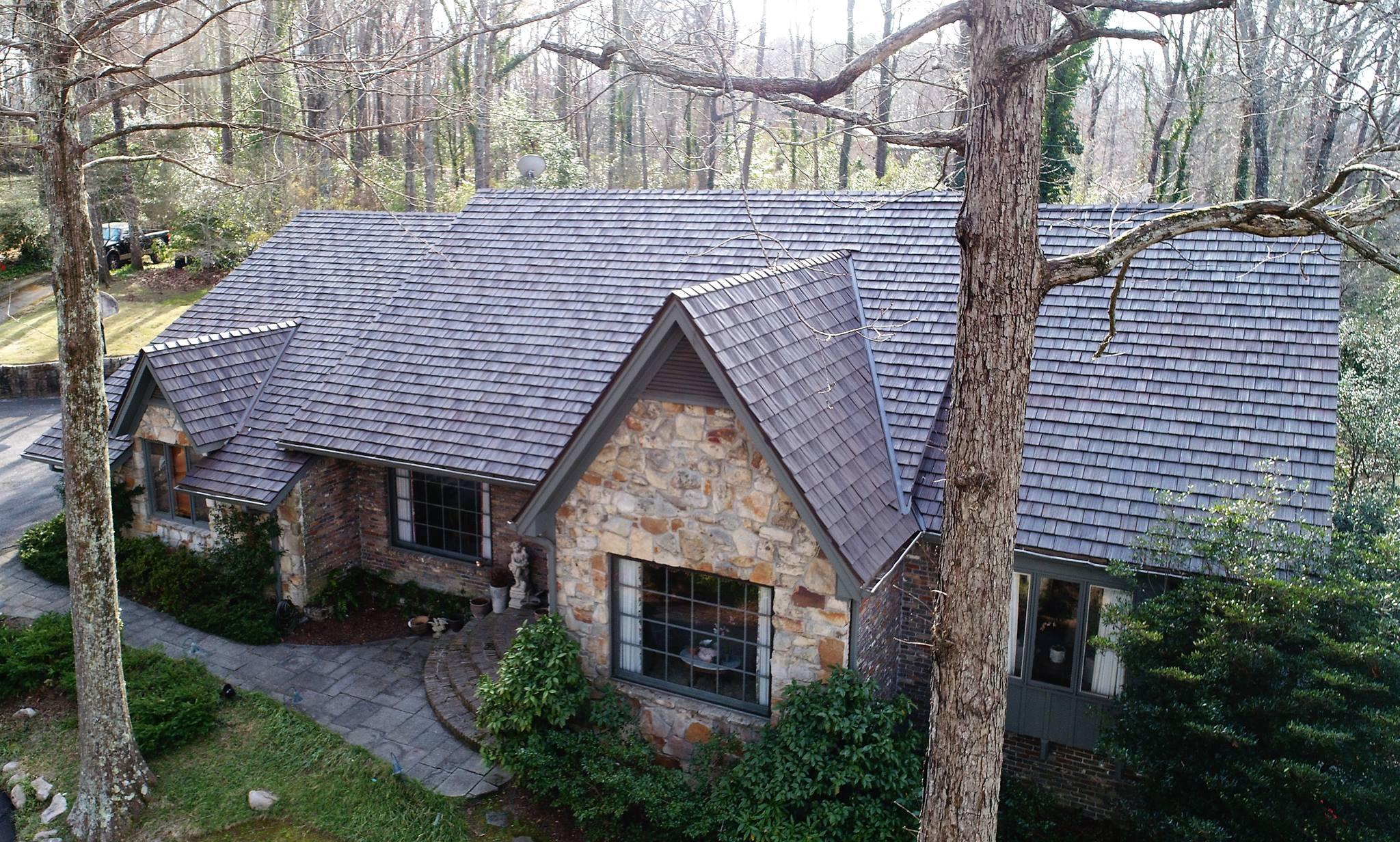 metal shake roof alternative