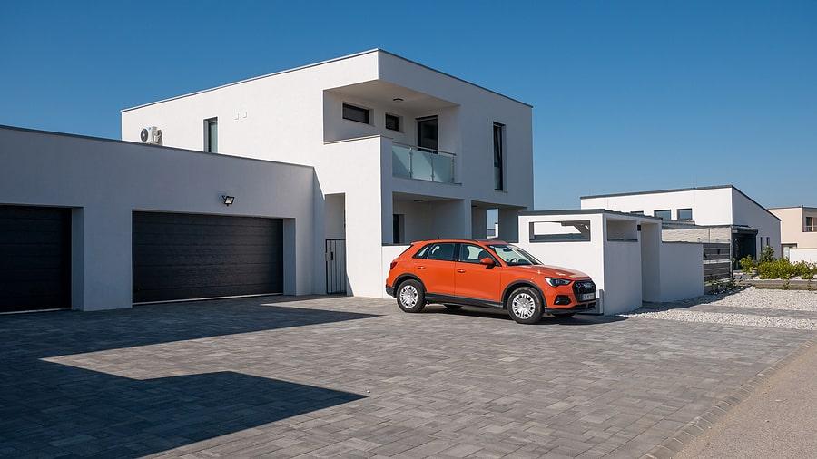 waterproof flat roof house