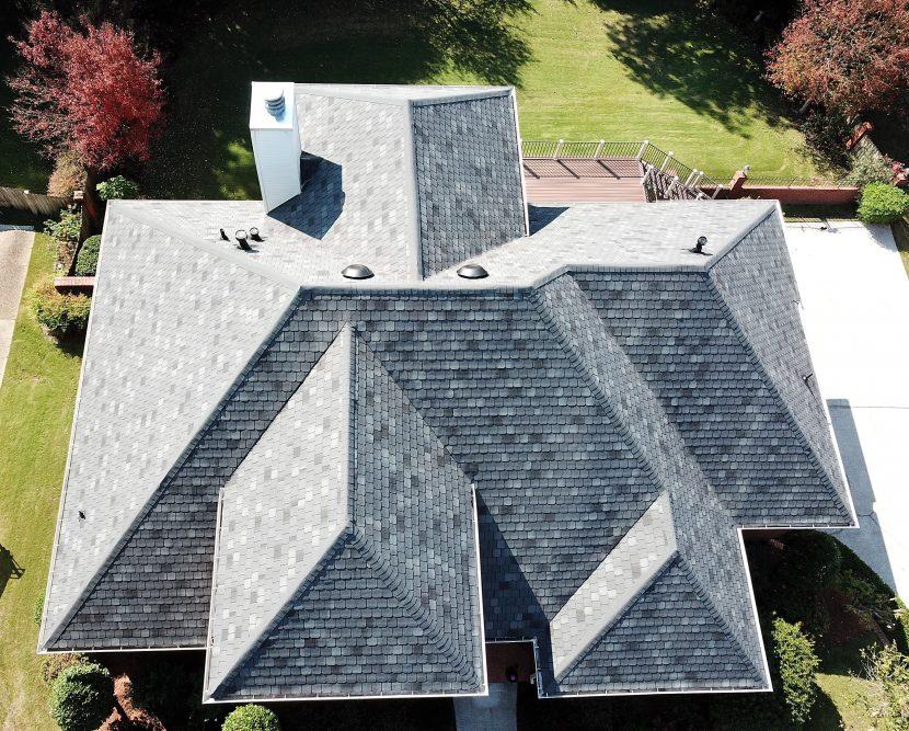 hail damage roof restoration